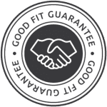 good fit guarantee logo